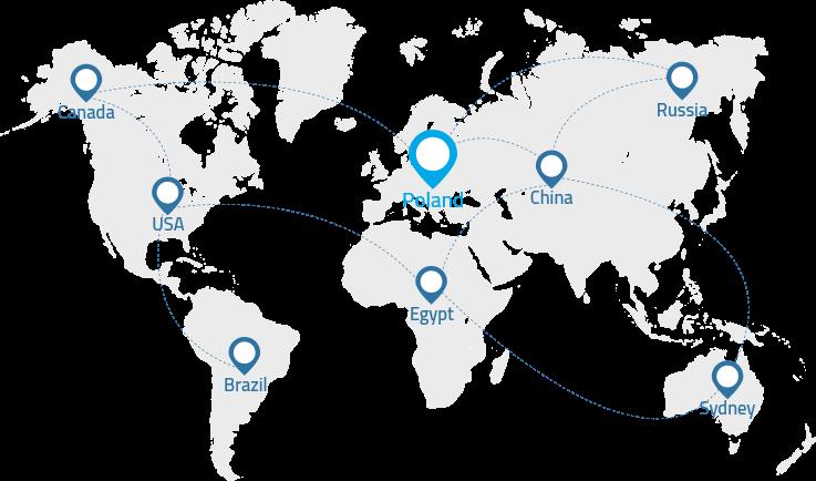 Gnum.pl - mapa zasięgu